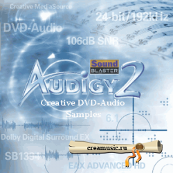 VA - Creative Sample Disc (2005) DVD-Audio