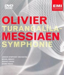 Messiaen / Previn - Turangalîla-Symphonie (2001) DVD-Audio