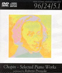 Roberto Prosseda: Chopin - Selected Piano Works (2005) DVD-Audio