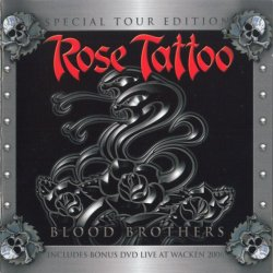 Rose Tattoo - Live At Wacken/Tattoo TV Interviews (Blood Brothers Special Tour Edition DVD) (2008) DVD-Video