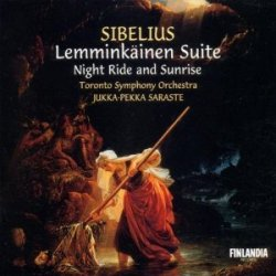 Jean Sibelius - Lemminkainen suite: Night ride and Sunrise (2002) DVD-Audio