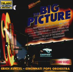 Erich Kunzel and Cincinnati Pops Orchestra - The Big Picture (1997) DTS 5.1