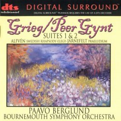 Paavo Berglund, Bournemouth Symphony Orchestra - Edvard Grieg: Peer Gynt Suites 1 & 2 (1998) DTS 5.1